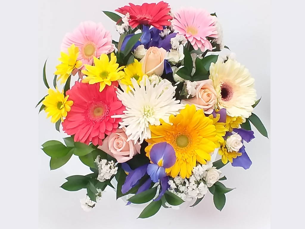 Happy Ends and Beginnings Birthday Flowers